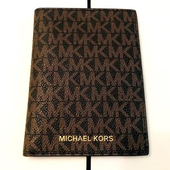 Michael Kors passport holder.